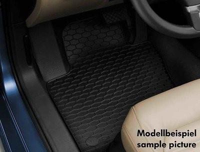 Volkswagen Gummifußmatten Set, vorne und hinten, Golf V 2007 - 2009