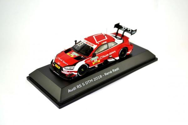 Modellauto Audi RS 5 DTM 2018, Rast, 1:43