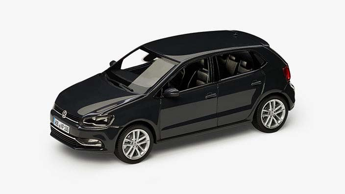 Modellauto Volkswagen Polo V 1 43 Urano Grey Metallic