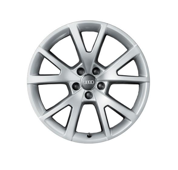 Winter-Aluminium-Gussrad im 5-V-Speichen-Designbrillantsilber, 8 J x 19