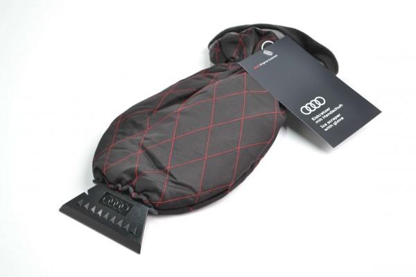 Audi Eiskratzer mit Handschuh, gefüttert, wasserdicht