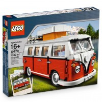 VW Bulli Lego Spielzeug Bausatz, Camping T1