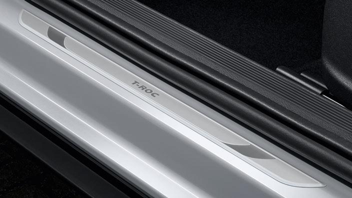 volkswagen einstiegsleiste f r vw t roc aluminium. Black Bedroom Furniture Sets. Home Design Ideas