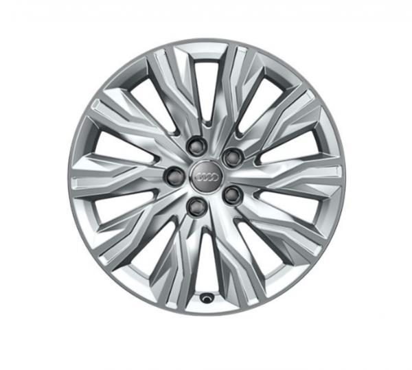 Winter-Aluminium-Gussrad im 10-Arm-Gravis-Designbrillantsilber, 7,5 J x 18