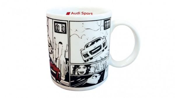 Tasse, Comic, Audi Sport