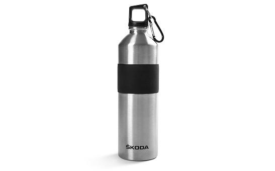 ŠKODA Edelstahl-Trinkflasche, Inhalt 500ml
