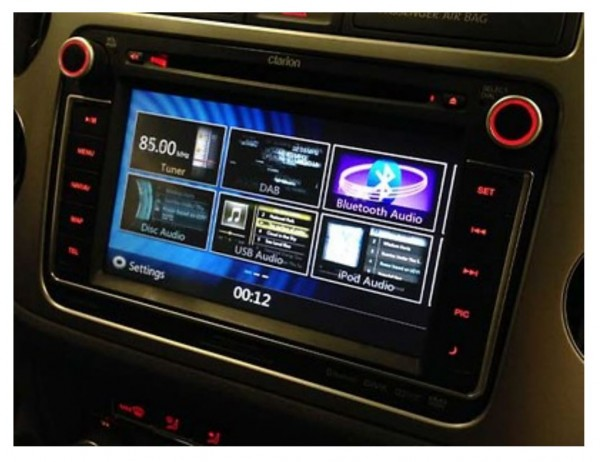 Volkswagen Radio-Navigationssystem RMT400N