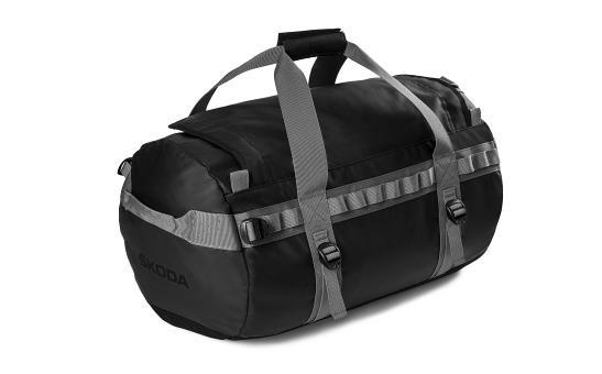 ŠKODA Sport-/Reisetasche schwarz/grau