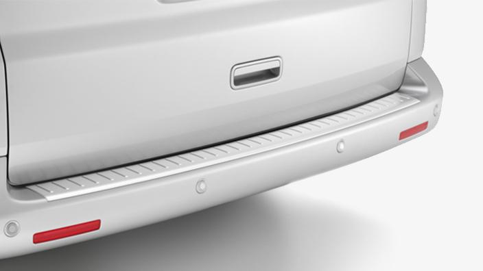 volkswagen ladekantenschutzfolie transparent f r vw t6 t5. Black Bedroom Furniture Sets. Home Design Ideas