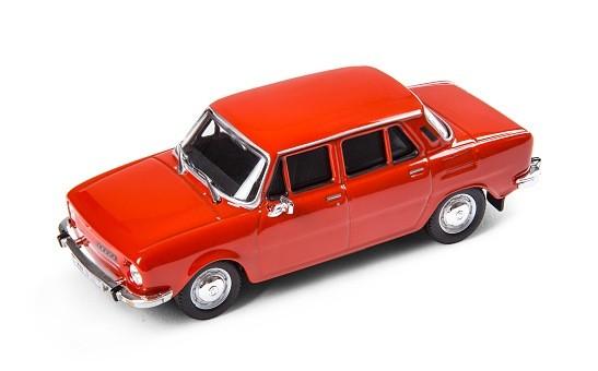 ŠKODA Modellauto 110L (1973), Modell 1:43, Farbe Rot