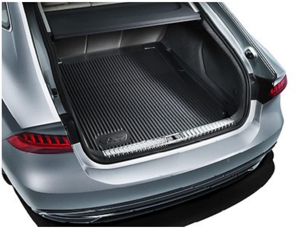 schwarz ab MJ 2019 vorne Audi Q3 Allwetterfußmatten