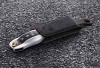 Porsche Schlüsseletui Alcantara