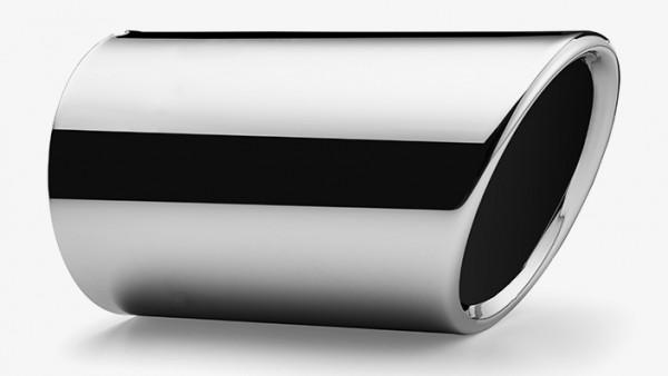 Endschalldämpferblende Edelstahl verchromt für Endrohrdurchmesser 65mm
