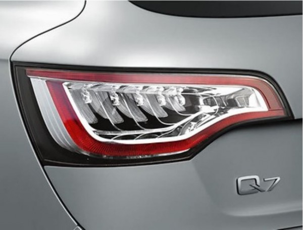 Audi Q7 4L Klarglas Schlussleuchten MJ 2010 - 2015