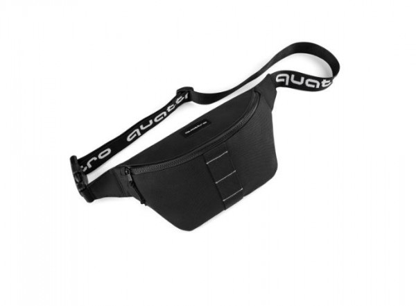 Audi quattro Hip Bag, Unisex, Gürteltasche, schwarz