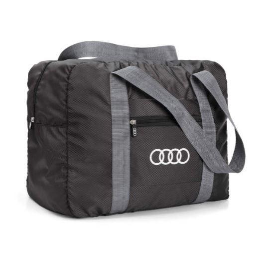 Audi Tasche faltbar, schwarz