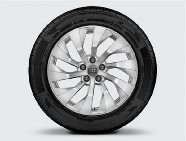 Winterkomplettrad-Satz im 10-Arm-Turbinen-Design 225/55 R18 102V Pirelli Audi A7 ab MJ 2019