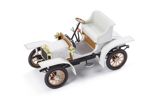 ŠKODA Modellauto L&K Voiturette, 1:18, Farbe Weiß