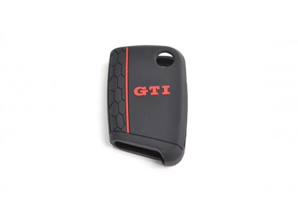 VW Schlüsselcover, GTI Design, für 3-Tasten Schlüssel