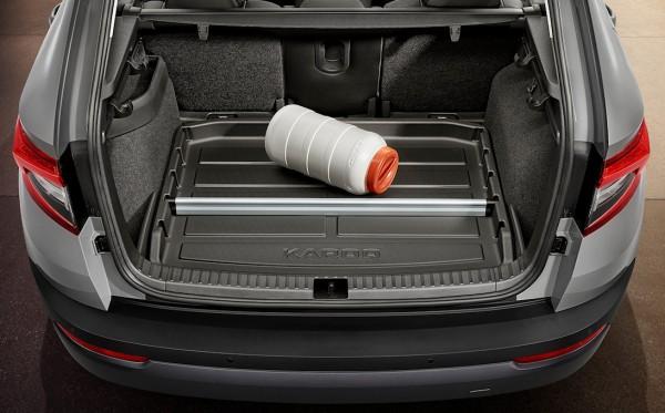 ŠKODA Kofferraumwanne Karoq mit erhöhtem Rand