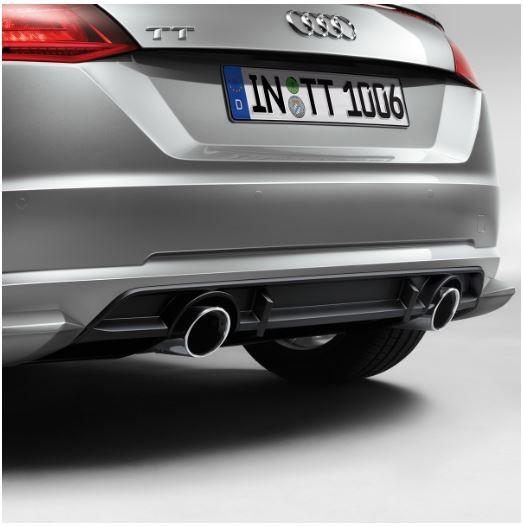 Heckdiffusor grundiert, Audi TT FV ab MJ 2015