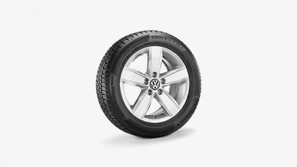 Volkswagen Touran Winterkomplettradsatz 205/60 R16 96H XL Continental WinterContact TS830P, Corvara