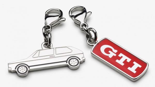 Volkswagen GTI Schlüsselanhänger, 2er-Set