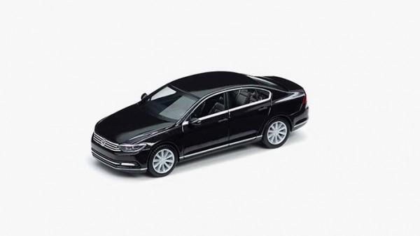 Modellauto Volkswagen Passat B8 Limousine, 1:87, Deep Black Perleffect