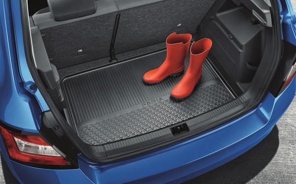 ŠKODA Kofferraummatte mit erhöhtem Rand, Fabia III Limousine