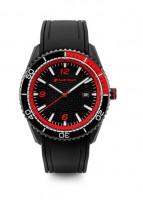 Audi Sport Uhr schwarz/rot