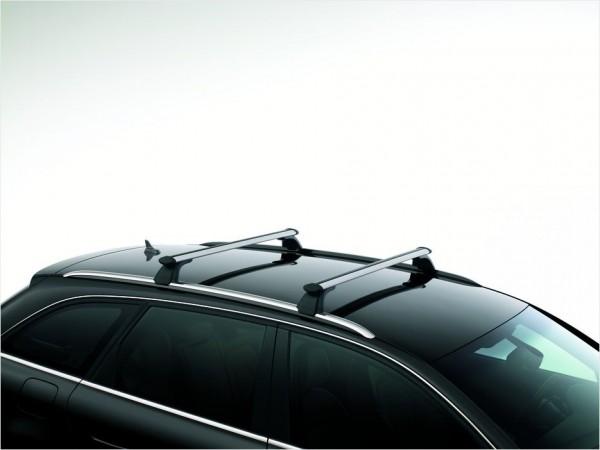 Grundträger Dachträger für Audi A4 8K Avant mit Dachreling MJ 2008 - 2016