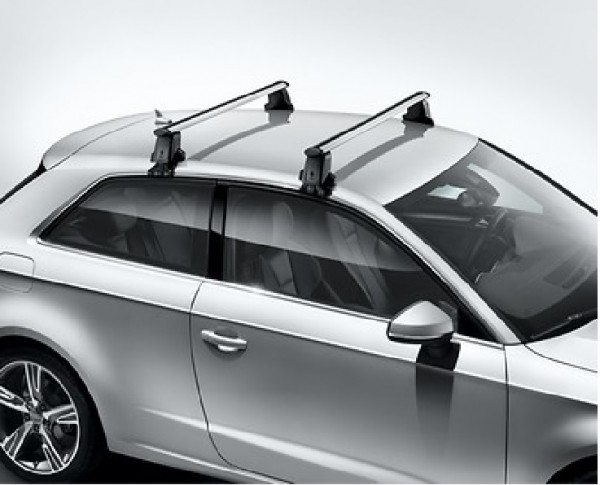 1 Satz Grundträger für Audi A3 8V 3-Türer ohne Dachreling