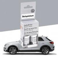 Volkswagen Lackstift-Set white silver-metallic, Lacknummer B9Z