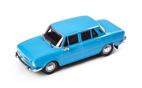 ŠKODA Modellauto 110L (1973), Modell 1:43, Farbe Blau