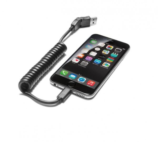 USB-Adapterleitung mit Apple Lightning Buchse, gerade