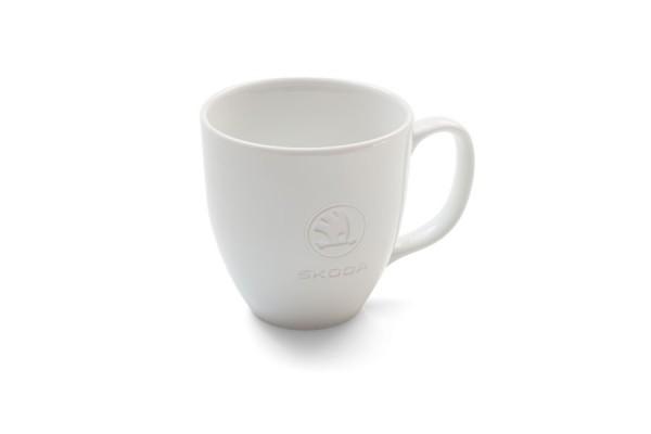 ŠKODA Jumbo-Becher / Tasse aus Porzellan