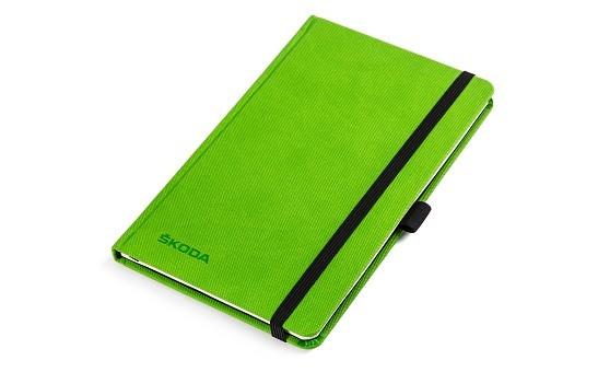 ŠKODA Notizbuch DIN A5, grün