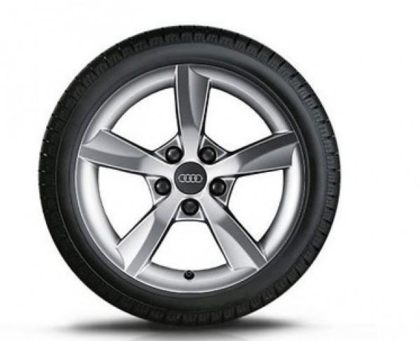 Audi A3 8V Winterkomplettrad Satz Aluminumfelge 205/55 R16 Dunlop