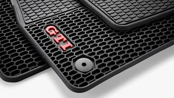 Golf GTI Allwetterfußmatten vorn und hinten