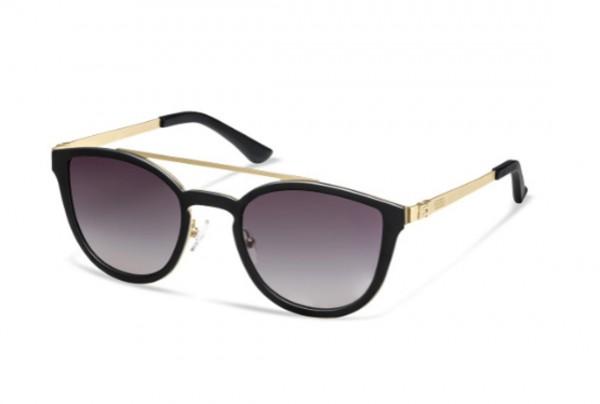 Audi Sonnenbrille, Damen, schwarz/gold