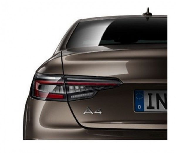 LED-Heckleuchten abgedunkelt, Audi A4 8W ab MJ 2017 Limousine