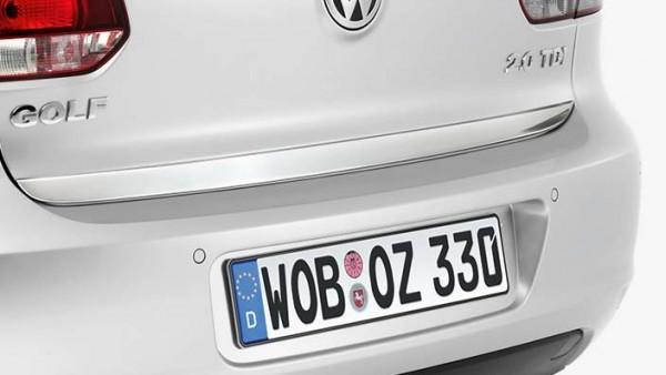 Volkswagen Heckleiste in Chromoptik für VW Golf 6