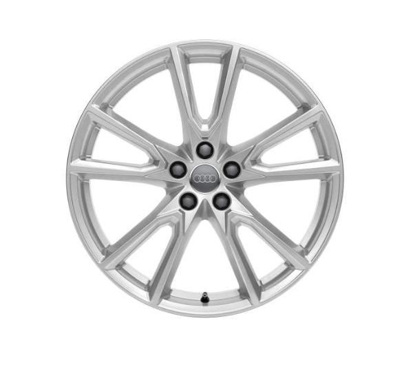 Winter-Aluminium-Gussrad im 10-Speichen-Vox-Designbrillantsilber, 8 J x 20