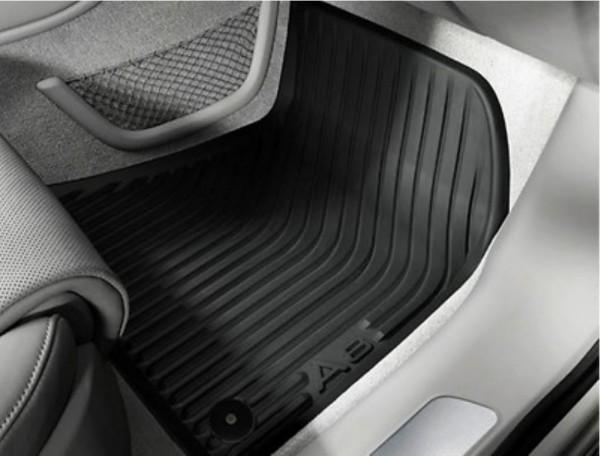 Gummifußmatten Satz vorne, schwarz, Audi A8 2010 - 2017