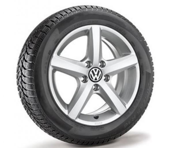 Volkswagen Amarok Winterkomplettradsatz 245/70 R16 111T XL Bridgestone Blizzak LM80evo, Aspen, Brill