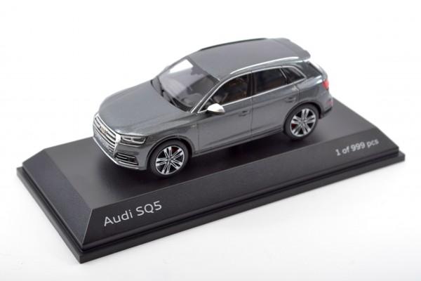 Modellauto Audi SQ5 limitiert, Daytonagrau, 1:43