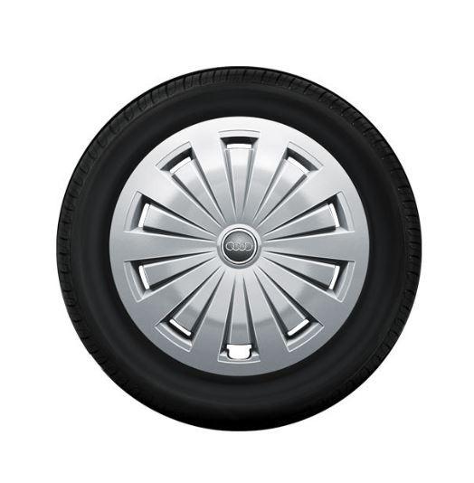 Winterkomplettrad-Satz mit Radvollblende für Audi A4 8W 205/60 R16