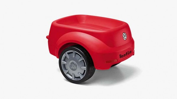 Volkswagen Junior Beetle Anhänger in Rot