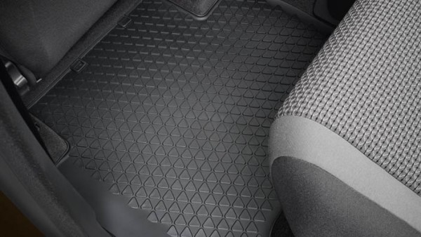 Volkswagen Allwettermatten hinten, Amarok
