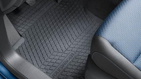 Volkswagen Allwettermatten vorn und hinten für Caddy ab 2007